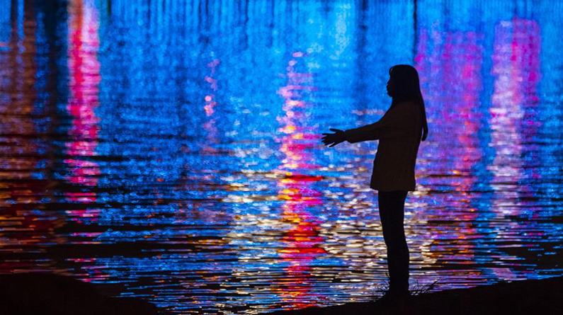 武汉:江滩夜色
