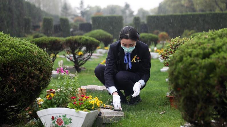 上海:云祭扫、代祭服务等成为市民新选择