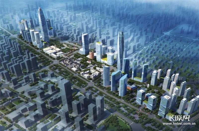 石家庄中央商务区建设加速推进