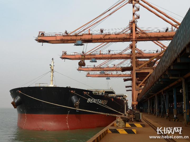 黄骅港区沧州矿石公司实现首季装卸生产开门红