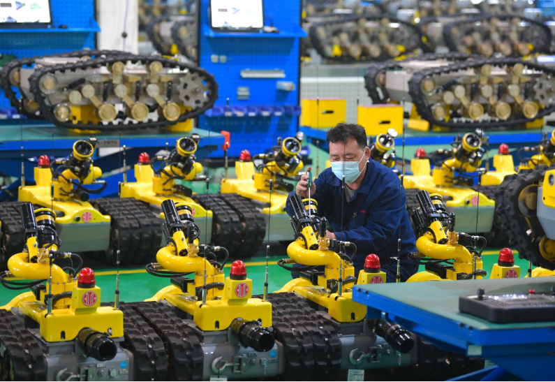河北唐山:高端裝備制造企業開足馬力生產忙