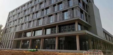 河优德w88中文成装配式清水混凝土建筑示范项目