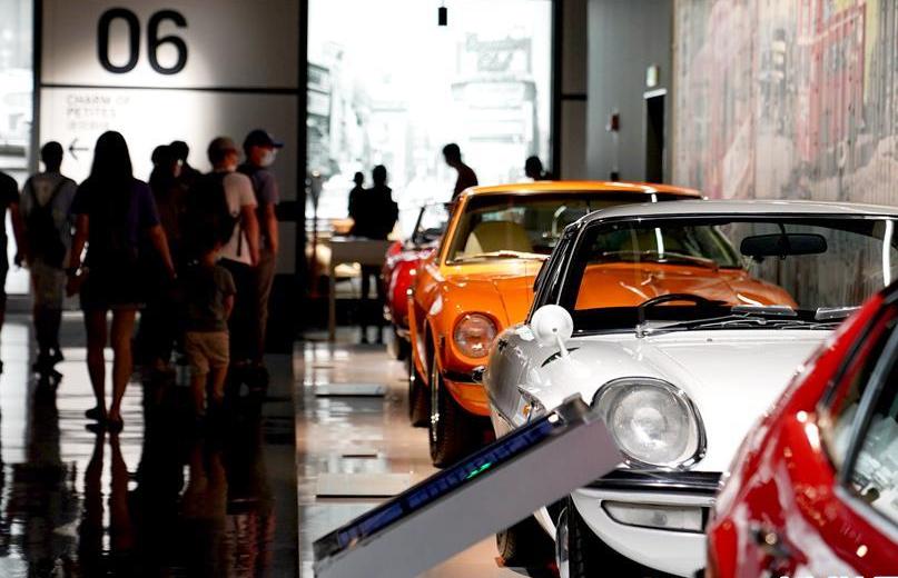 """上海:博物馆里看""""香车"""""""