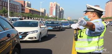 国庆假期首日,河北道路交通安全形势平稳