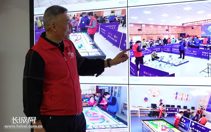 河北省举办第12届青少年机器人竞赛