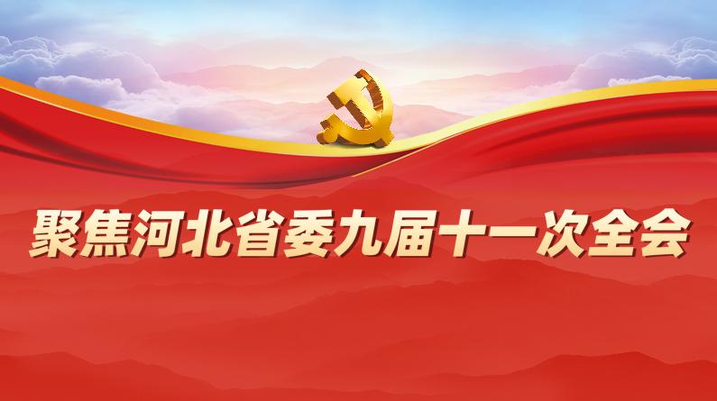 聚焦河北省委九届十一次全会