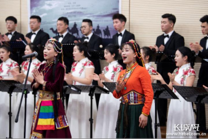 西安音乐学院合唱团来邢台学院开展交流活动