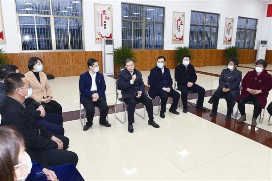 張古江到豐南區調研宣講黨的十九屆五中全會精神