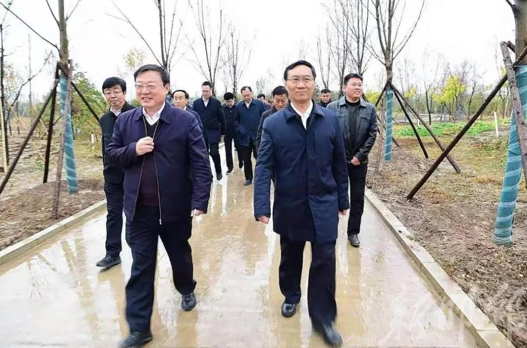 邯鄲市黨政代表團到雄安新區學習考察