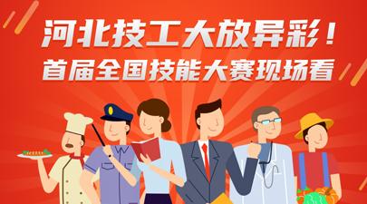 河北技工大放异彩 首届全国技能大赛现场看!