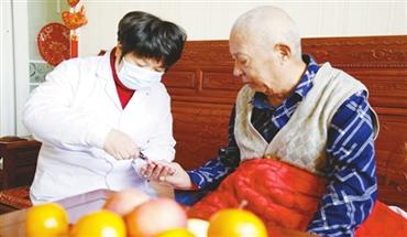 襄都区:居家护理惠民便民