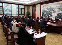 省人大常委会监察司法工委召开对口联系部门工作座谈会
