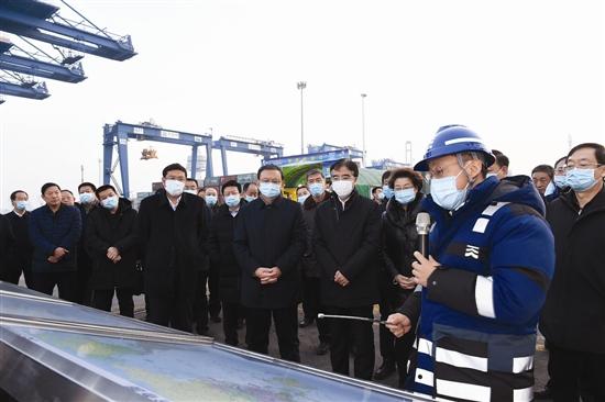 唐山市党政代表团赴天津滨海新区学习考察