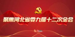 聚焦河北省委九届十二次全会