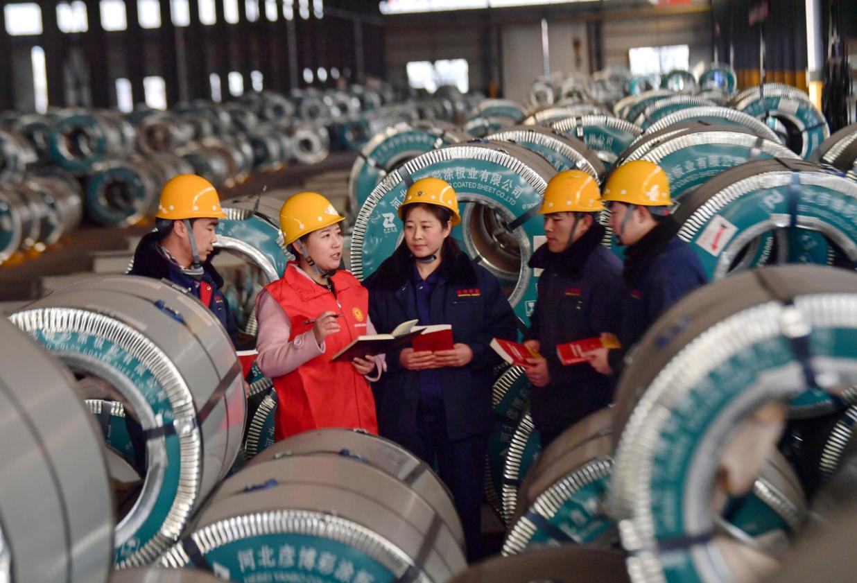 遷安宣講深入鋼企班組 激發職工創新動能