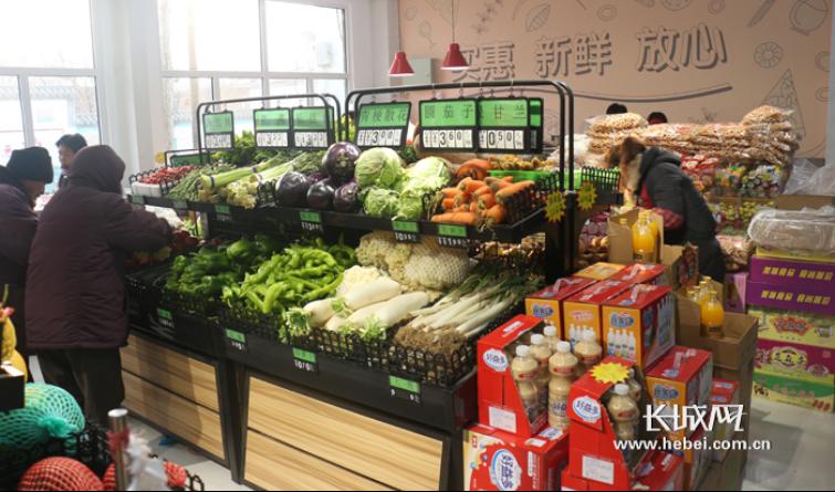 定州470个农村综合服务站: