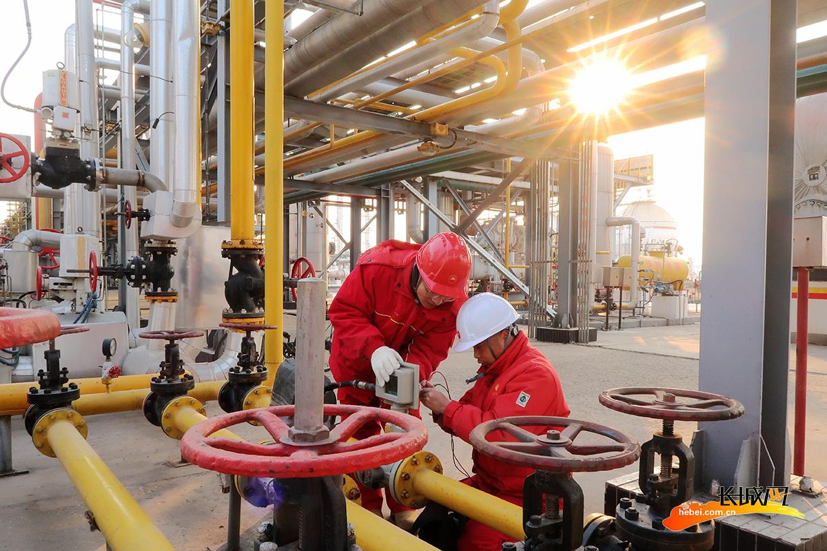 冀东油田:全力保障天然气安全处理外输