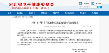 1月4日河北省新增确诊病例14例!