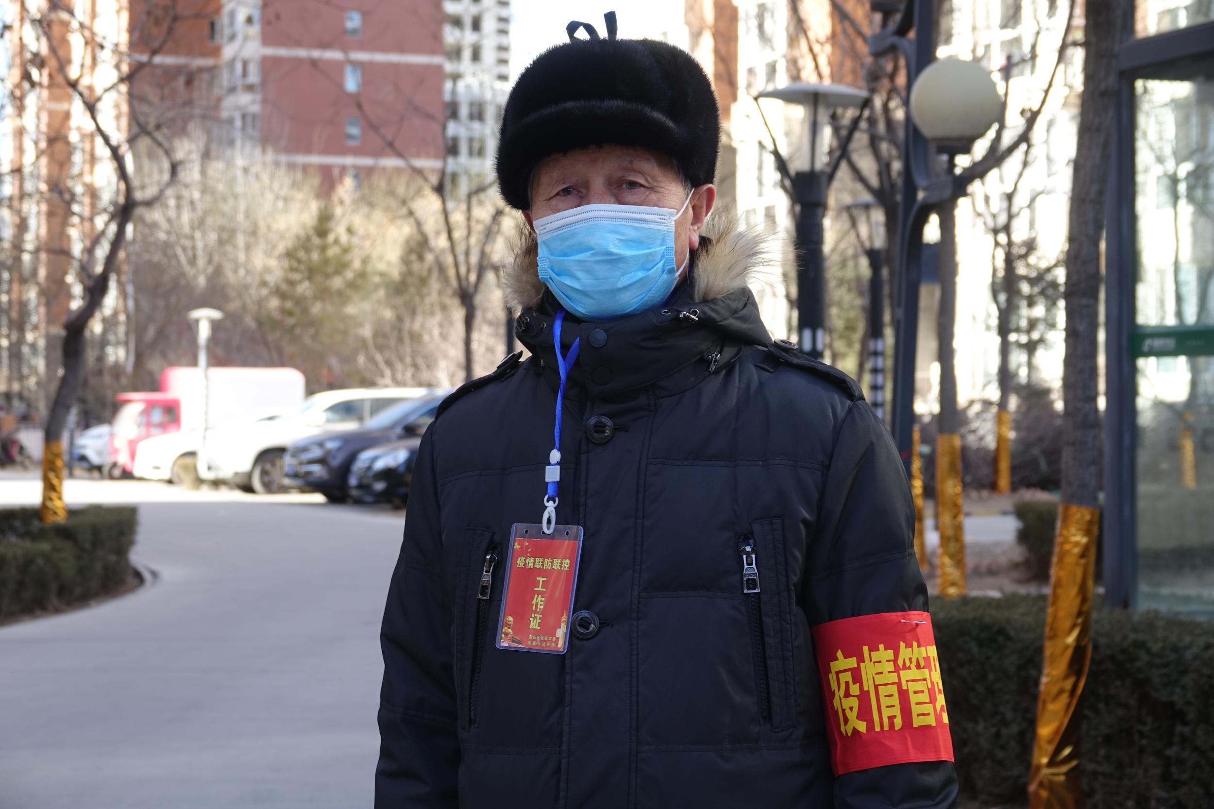 抗疫一线党旗红——党员志愿者坚守社区防控一线