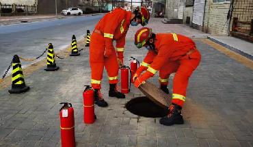 辛集消防:留守辛集過年 確保全市平安