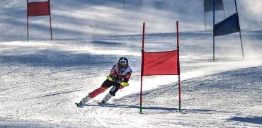 北京冬奧會高山滑雪賽道第一視角畫面首度公開