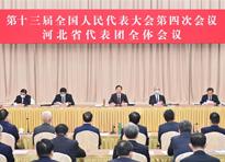 河北省代表團召開全體會議