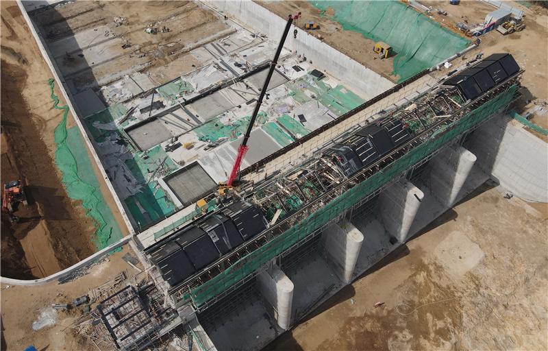 秦皇島:洋河水庫除險加固工程主體工程完工