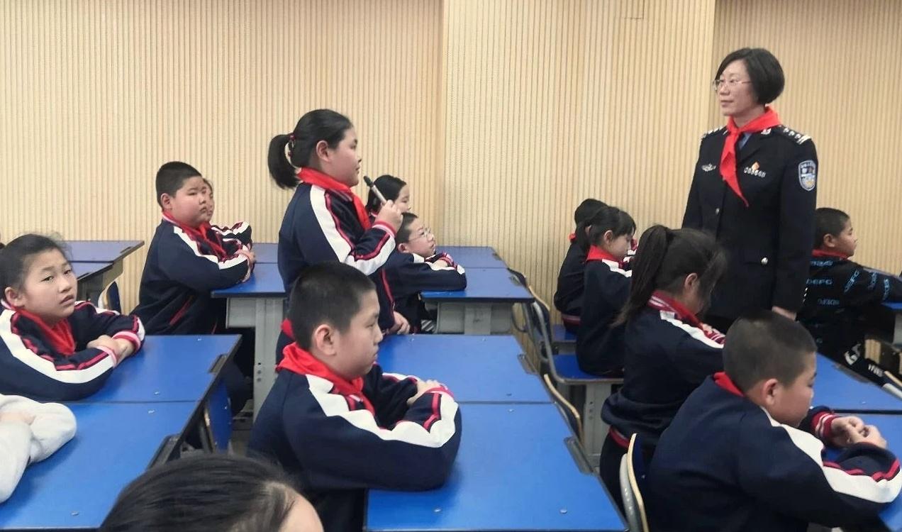 唐山開平:警校攜手共建和諧平安校園