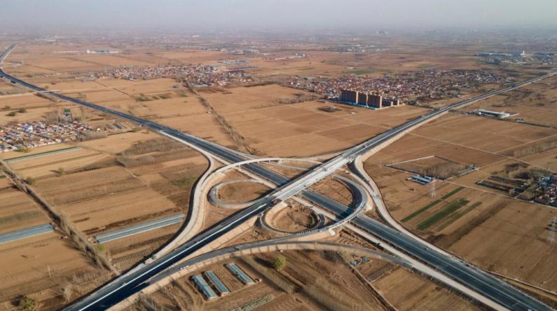 京德高速(一期工程)橋梁全部貫通