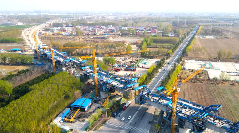 京唐城际铁路建设有序推进