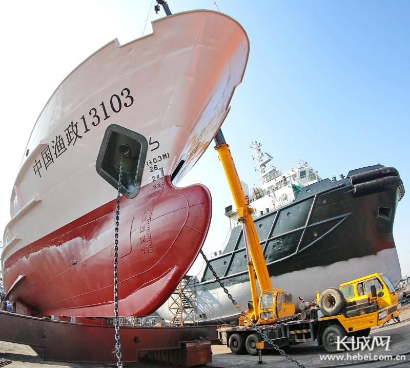 秦皇岛加快渔政船改造升级 助力伏季休渔期执法