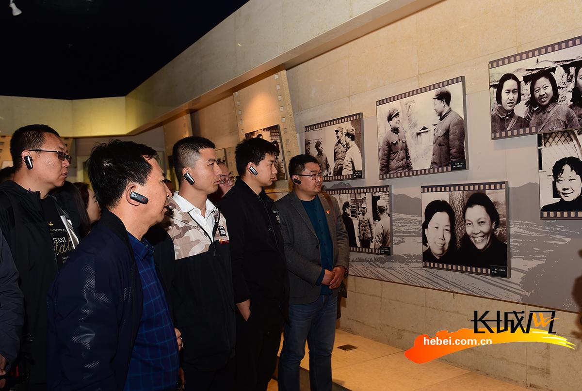 河北沧州:革命圣地学习 汲取前进力量