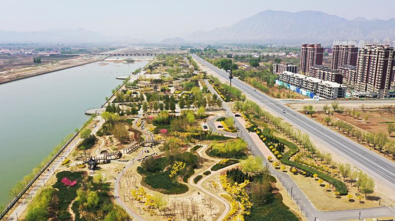 河北涿鹿:桑干河畔生态美