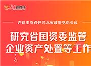 河北省政府党组会议召开