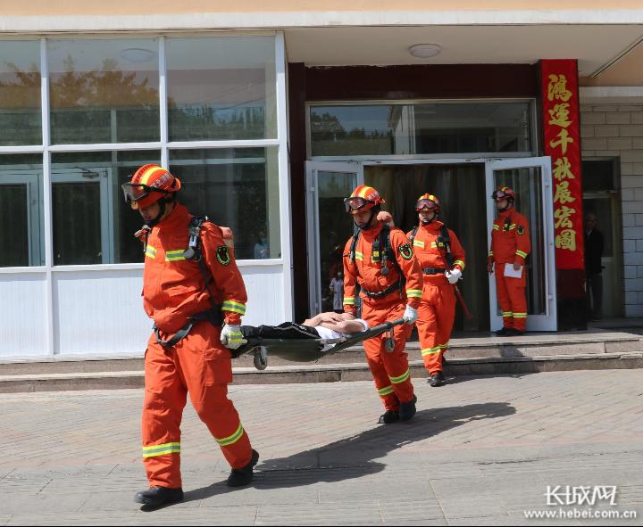 承德消防:开展5·12防灾减灾主题活动 守护消防安全