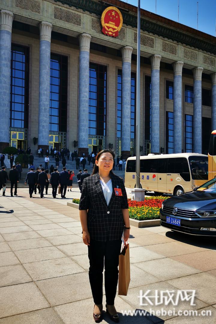 安信5注册登录河北省眼科医院院长王莉菲参加中国科学技术协会第十次全国代表大会