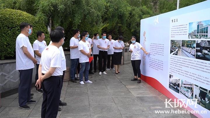 安信5登录地址百年辉煌路 共筑血液梦 河北举办第十八个世界献血者日主题活动
