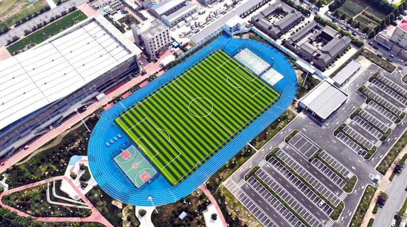 雄安新區首座高標準體育公園啟用