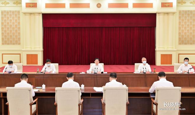 王东峰参加河北省委办公厅一处党支部、综合处党支部党史学习教育专题组织生活会