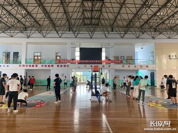 申博sunbet官网:陆地冰壶项目社会体育指导员培训班圆满结束