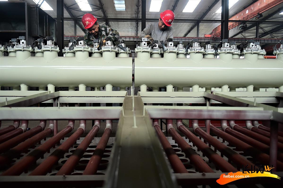 献县:环保除尘产品订单多