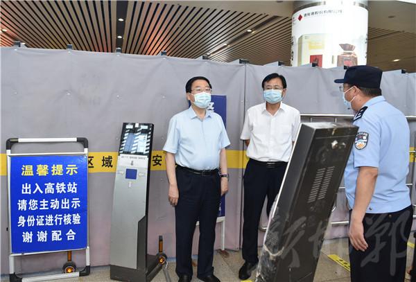 樊成华在主城区暗访检查疫情防控工作
