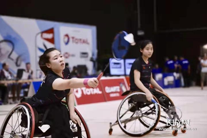 河北广平:19岁姑娘出征残疾人奥运会