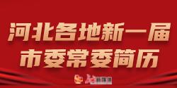 河北各地新一届市委常委简历
