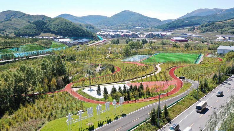 河北張家口:崇禮太子城體育公園建成