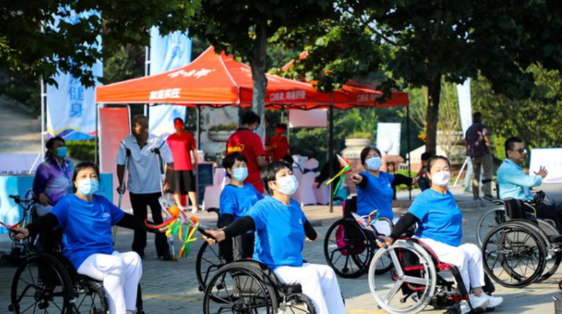 河北省第11屆殘疾人健身周在石家莊啟動