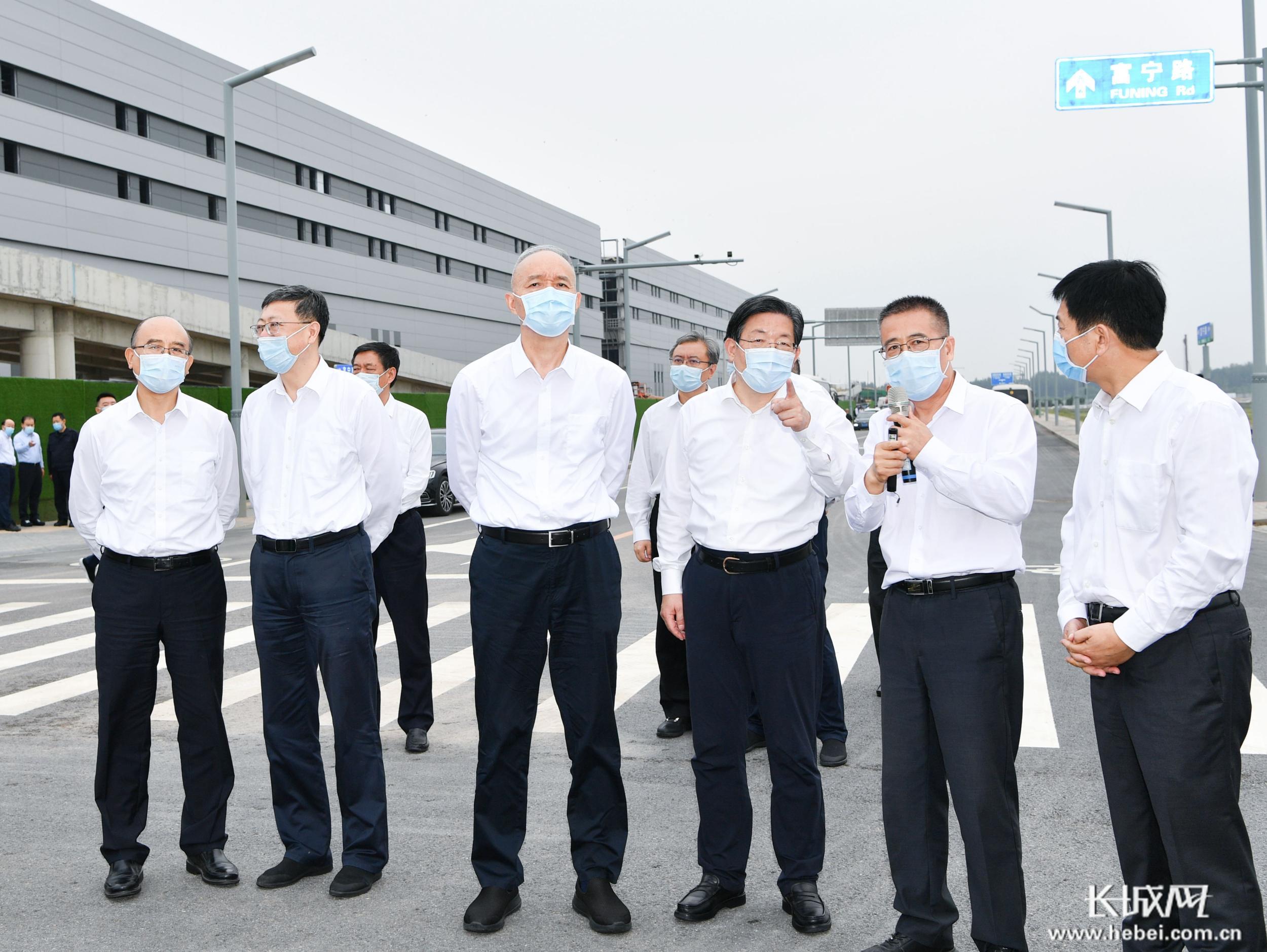 河北省党政代表团到北京市学习考察