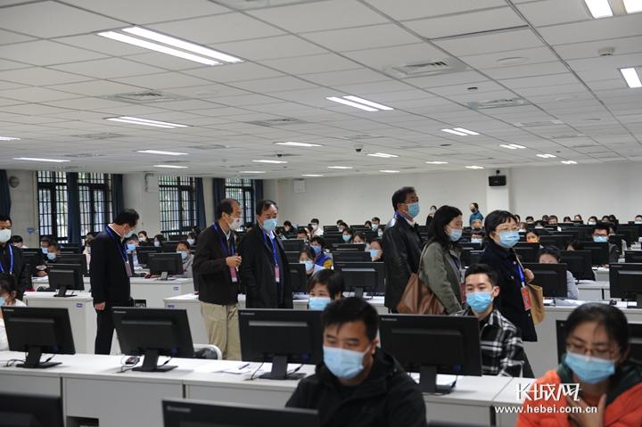 今年河北省近2.7万人报名参加法考客观题考试