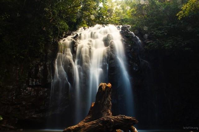 绸缎般的顺畅水面 长曝流水的摄影技巧
