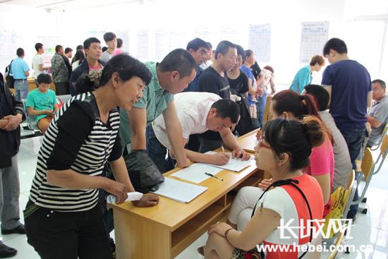 唐山市举行民营企业招聘周活动